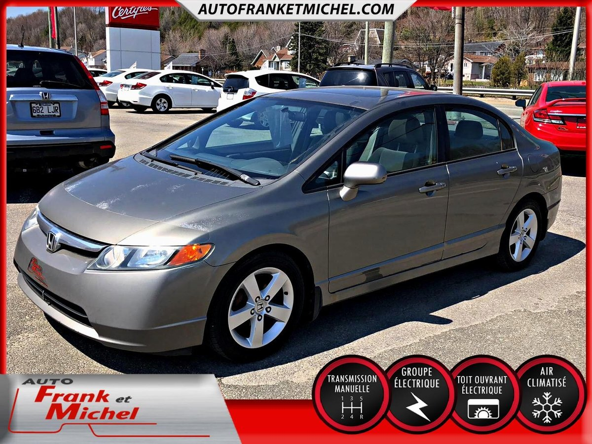 2006 Honda Civic Cpe For Sale In Donnacona Hybrid Engine Sdn Ex