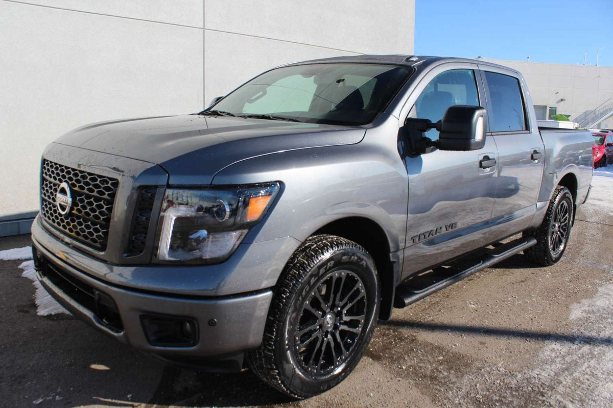 2018 Nissan Titan MIDNIGHT: Navigation, Blind Spot Warning, Heated Front  Seats, RearView Monitor, Running Boards, Front And Rear Sonar System,  Utili Track ...