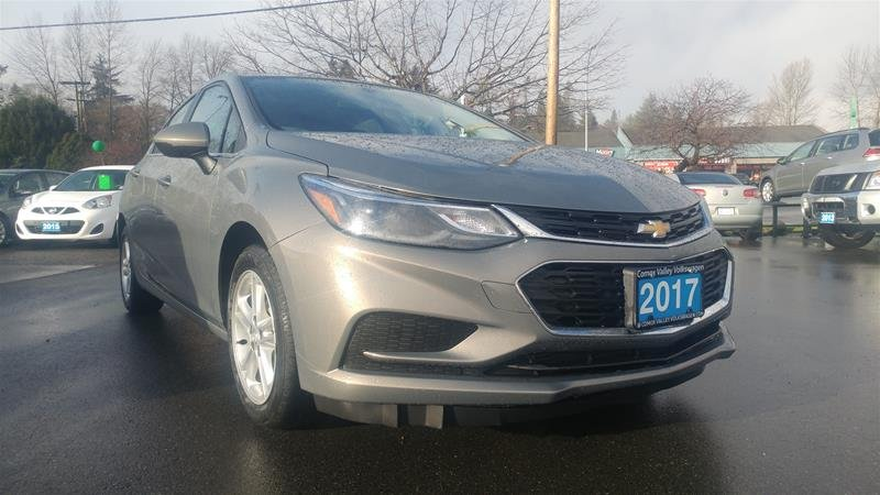 2017 Chevrolet Cruze for sale in Courtenay, British Columbia