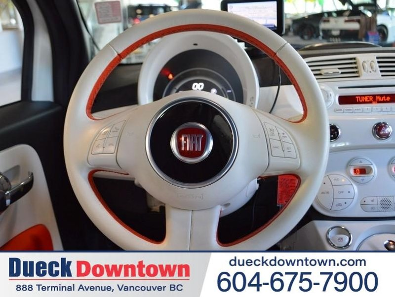 2015 Fiat 500e for sale in Vancouver, British Columbia