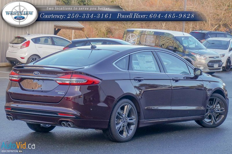 2018 Ford Fusion for sale in Courtenay and Powell River, British Columbia