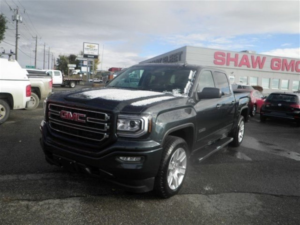 Shaw Gmc Calgary >> 2018 Gmc Sierra 1500 For Sale In Calgary