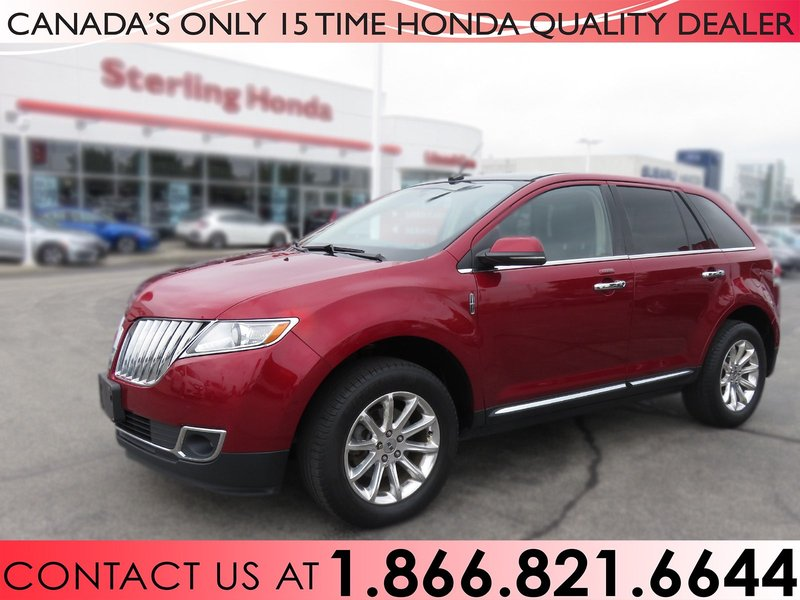 2013 Lincoln MKX for sale in Hamilton, Ontario