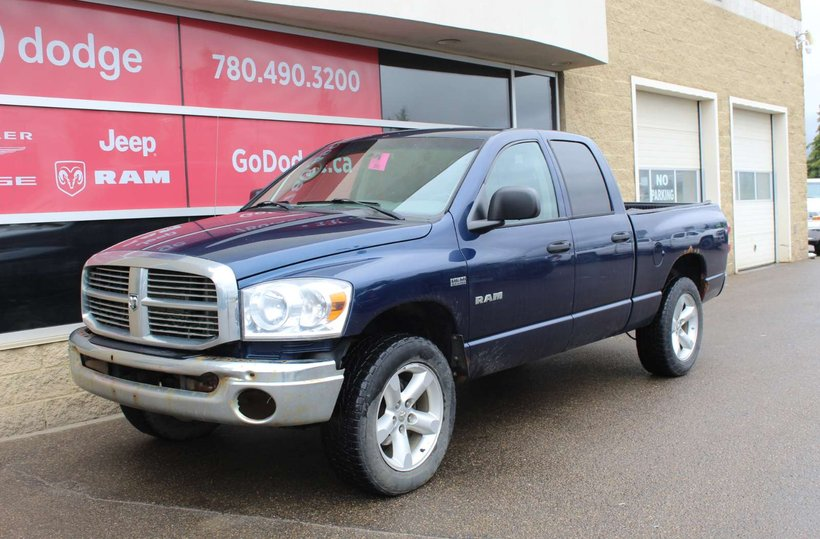 Blue 2008 Dodge Ram 1500 SLT for sale in Edmonton, Alberta