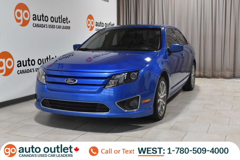 Blue 2011 Ford Fusion SEL for sale in Edmonton, Alberta