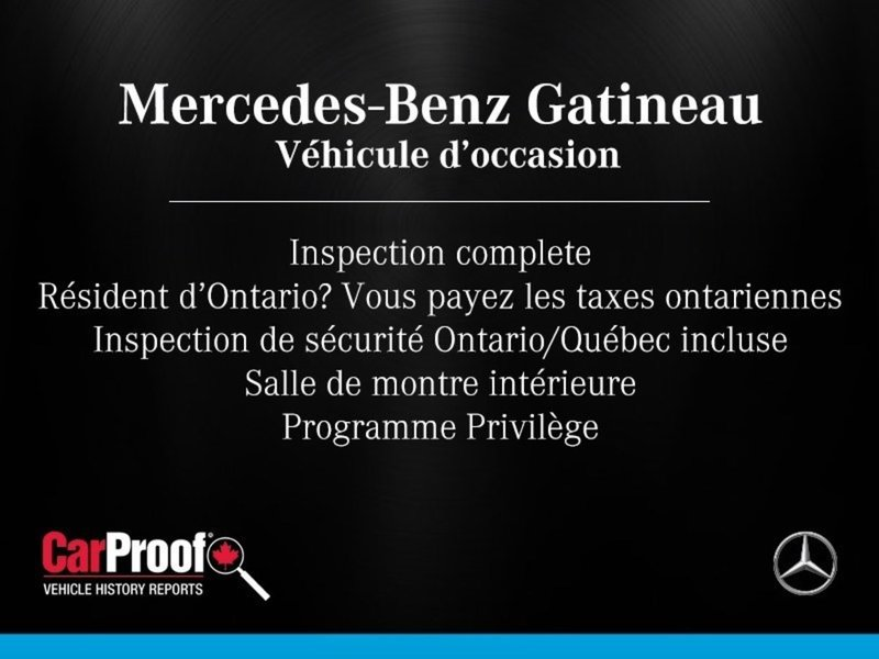 2015 Mercedes-Benz C-Class for sale in Gatineau, Quebec