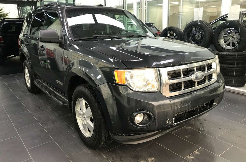 Black 2008 Ford Escape XLT for sale in Edmonton, Alberta