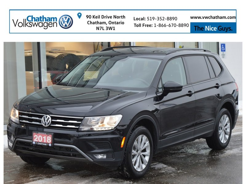 2018 Volkswagen Tiguan for sale in Chatham, Ontario