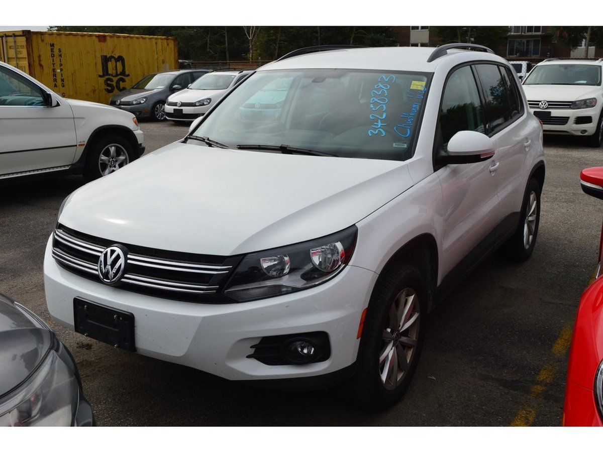 2017 Volkswagen Tiguan for sale in Chatham, Ontario