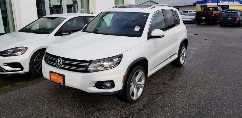 2015 Volkswagen Tiguan for sale in Langley, British Columbia