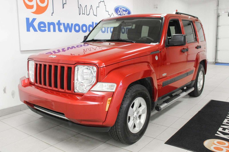 Red 2009 Jeep Liberty Sport for sale in Edmonton, Alberta
