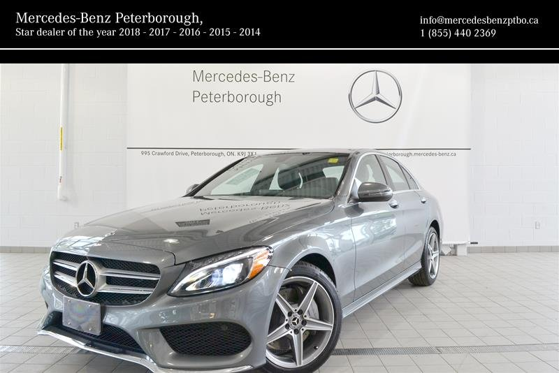2018 Mercedes-Benz C-Class for sale in Peterborough, Ontario
