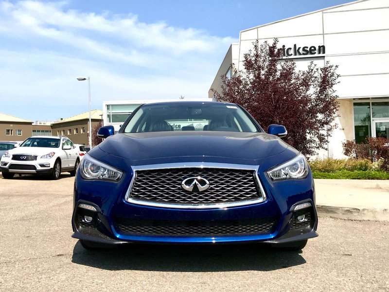 2018 Infiniti Q50 for sale in Edmonton, Alberta