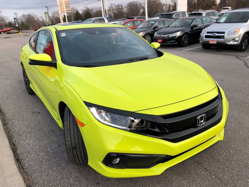2019 Honda Civic Coupe for sale in Belleville, Ontario