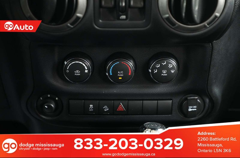 2016 Jeep Wrangler Unlimited for sale in Mississauga, Ontario