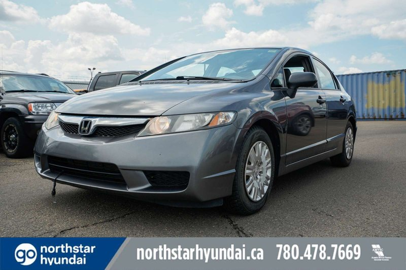 Grey 2010 Honda Civic Sdn DX-A for sale in Edmonton, Alberta