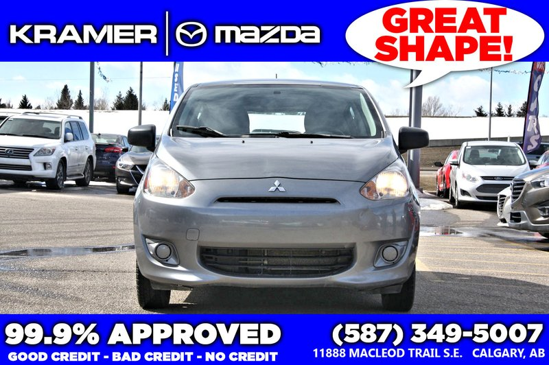 2015 Mitsubishi Mirage for sale in Calgary, Alberta