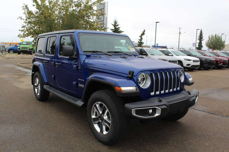2018 Jeep Wrangler Unlimited for sale in Edmonton, Alberta