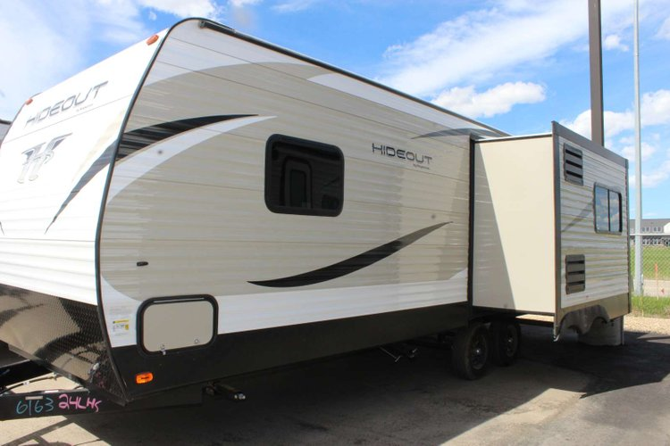 2019 Keystone Hideout 24LHS Only $126 Biweekly OAC. New Travel Trailer, sleeps 4 with Queen Bed! for sale in Red Deer, Alberta
