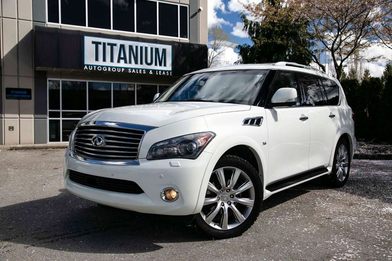 2014 Infiniti QX80 for sale in Langley, British Columbia