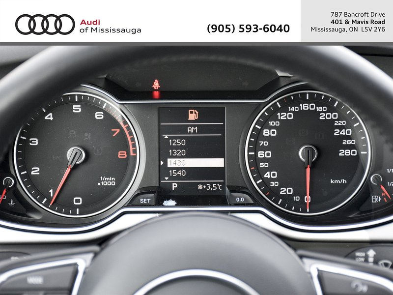 2015 Audi A4 for sale in Mississauga, Ontario