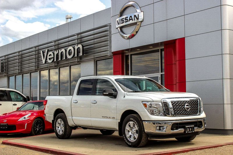2018 Nissan Titan for sale in Vernon, British Columbia
