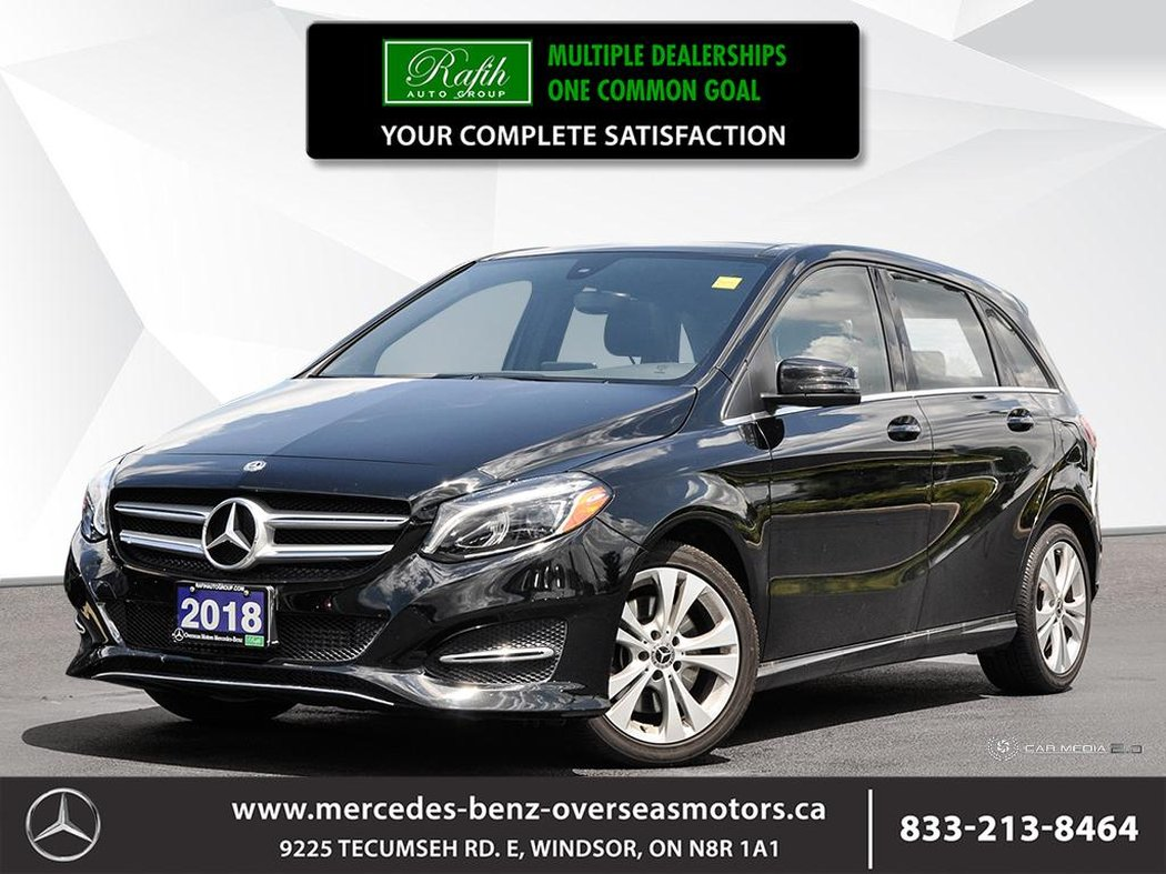 2018 mercedes-benz b-class for sale in windsor