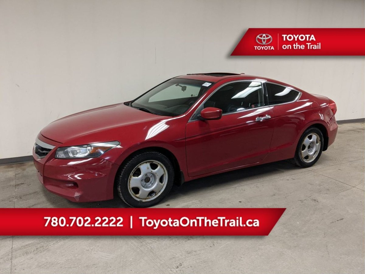 2012 Honda Accord Coupe For Sale In Edmonton
