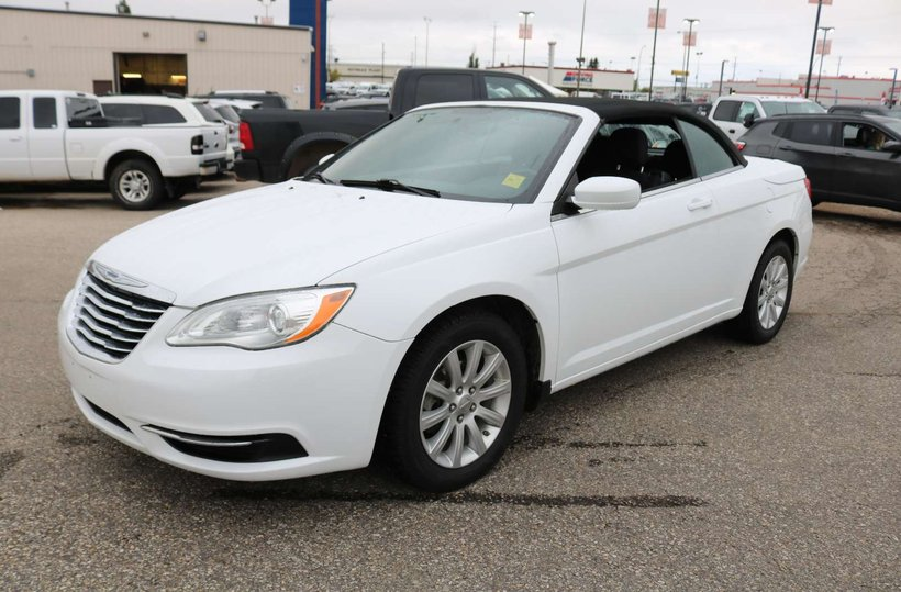 White 2012 Chrysler 200 Touring for sale in Edmonton, Alberta