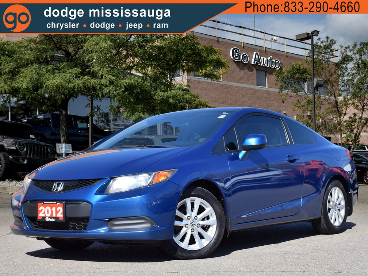 Honda Civic Coupe For Sale >> 2012 Honda Civic Coupe For Sale In Mississauga Ontario