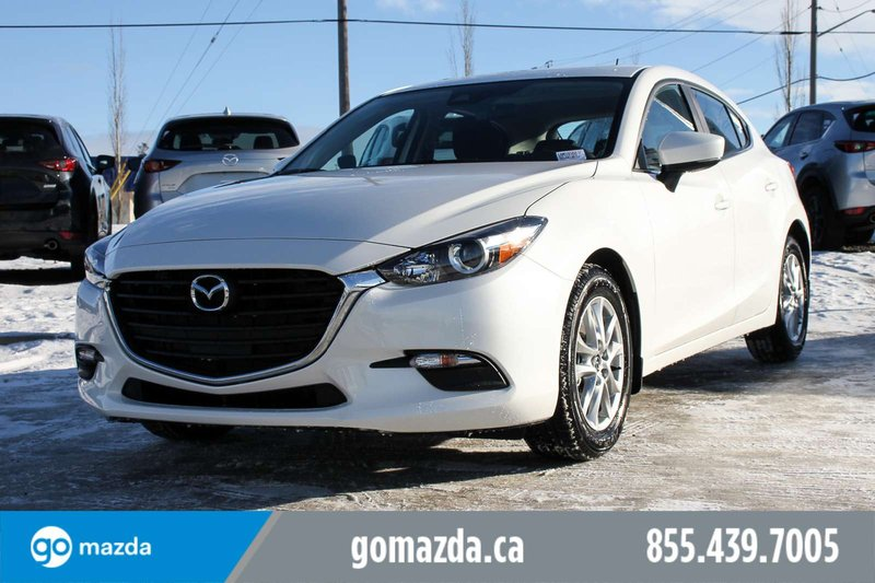 White 2018 Mazda Mazda3 Sport GS for sale in Edmonton, Alberta