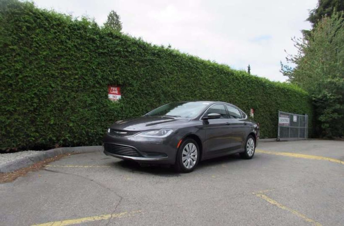 2017 Chrysler 200 for sale in Surrey, British Columbia