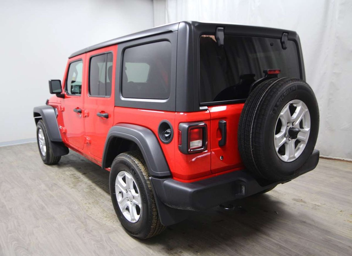 2018 Jeep Wrangler Unlimited for sale in Moose Jaw, Saskatchewan