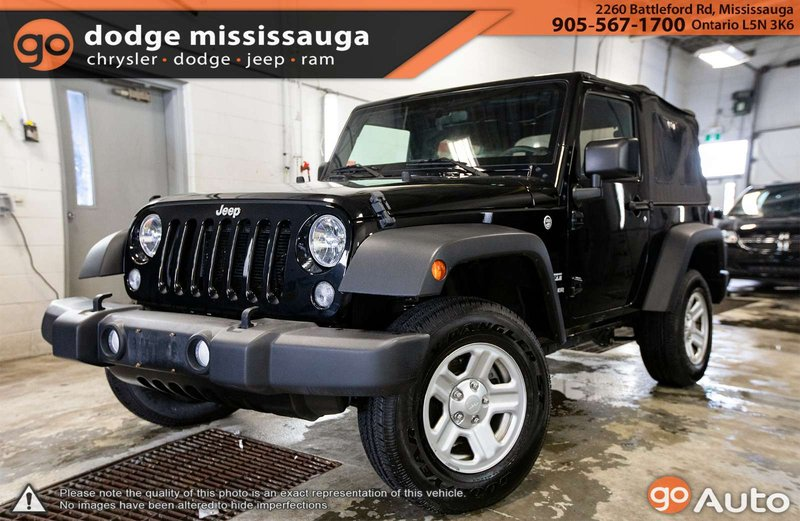 2016 Jeep Wrangler For Sale In Mississauga Ontario