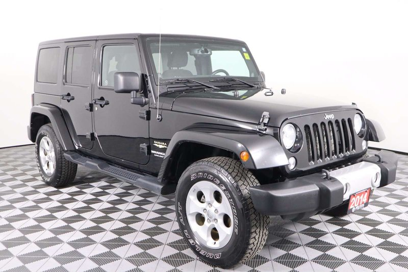 2014 Jeep Wrangler Unlimited for sale in Huntsville, Ontario