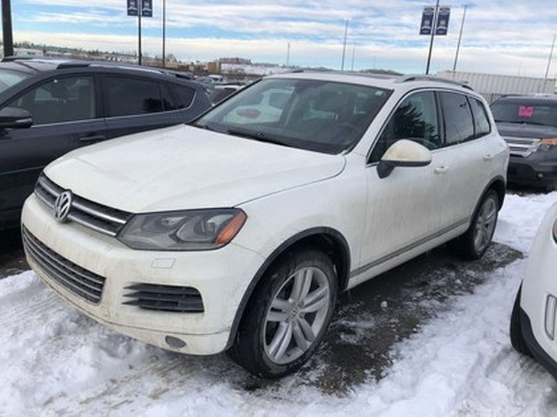 2012 Volkswagen Touareg for sale in Calgary, Alberta
