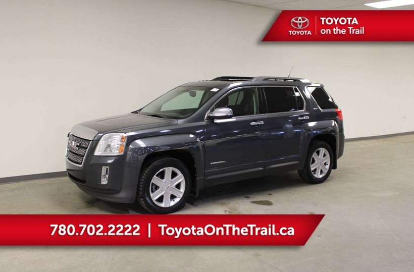 Grey 2011 GMC Terrain SLT-2 for sale in Edmonton, Alberta