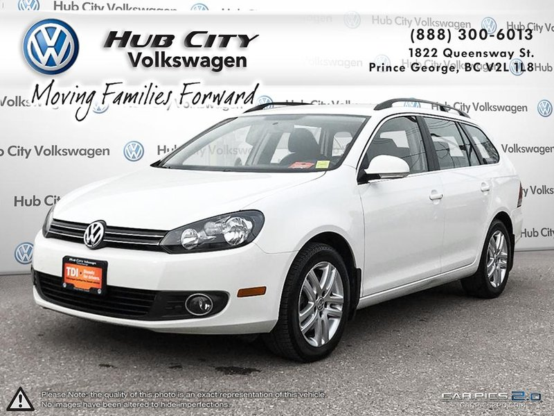 2013 Volkswagen Golf Wagon for sale in Prince George, British Columbia