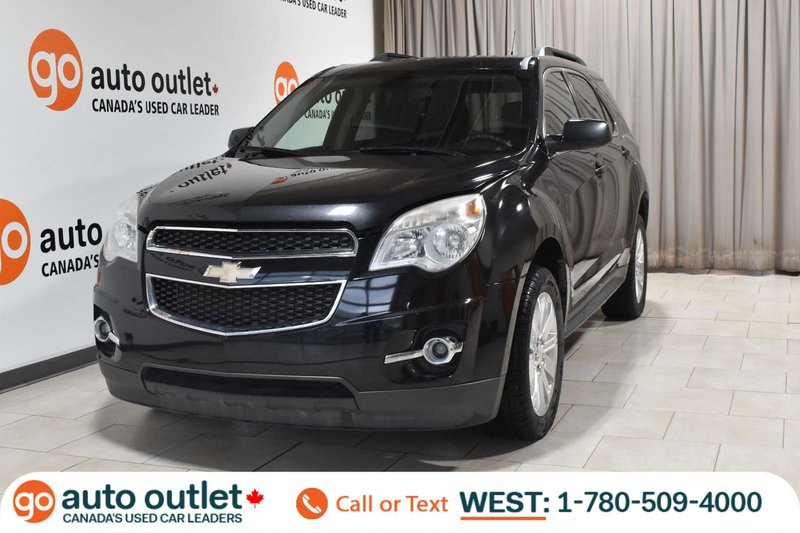 Black 2010 Chevrolet Equinox 1LT for sale in Edmonton, Alberta