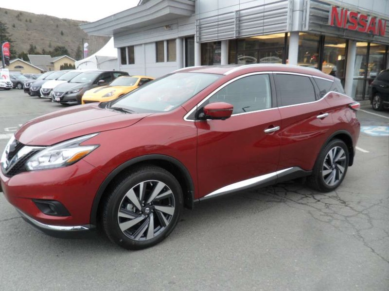 2018 Nissan Murano for sale in Kamloops, British Columbia