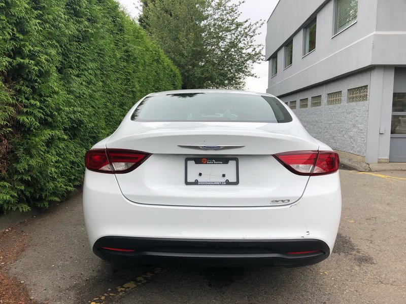 2015 Chrysler 200 for sale in Surrey, British Columbia
