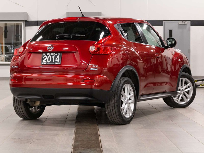 2014 Nissan JUKE for sale in Kelowna, British Columbia