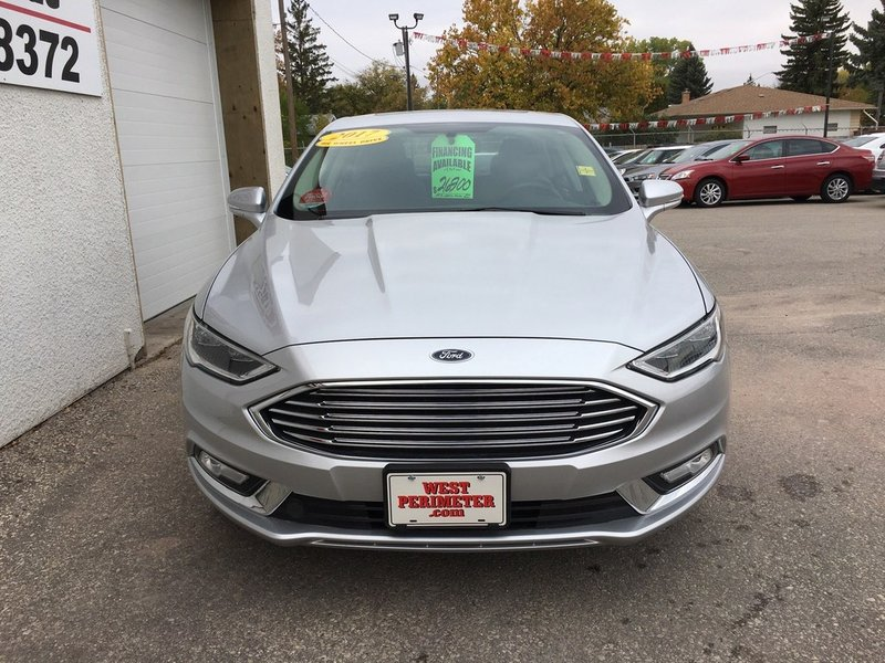 2017 Ford Fusion for sale in Winnipeg, Manitoba
