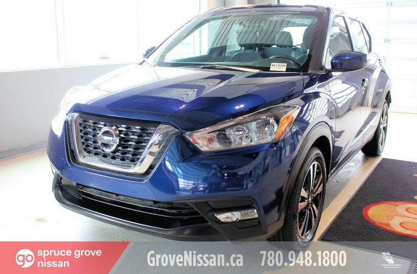 Blue 2019 Nissan Kicks SV for sale in Spruce Grove, Alberta