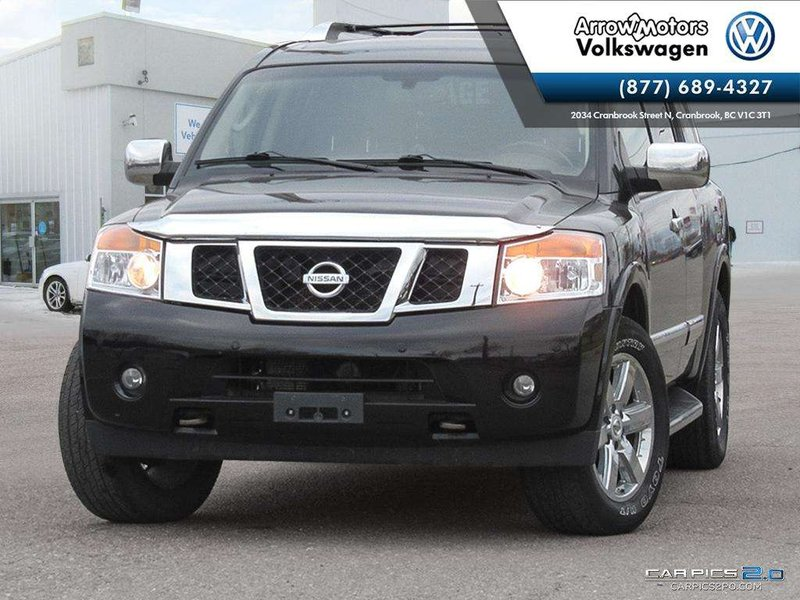 2010 Nissan Armada for sale in Cranbrook, British Columbia