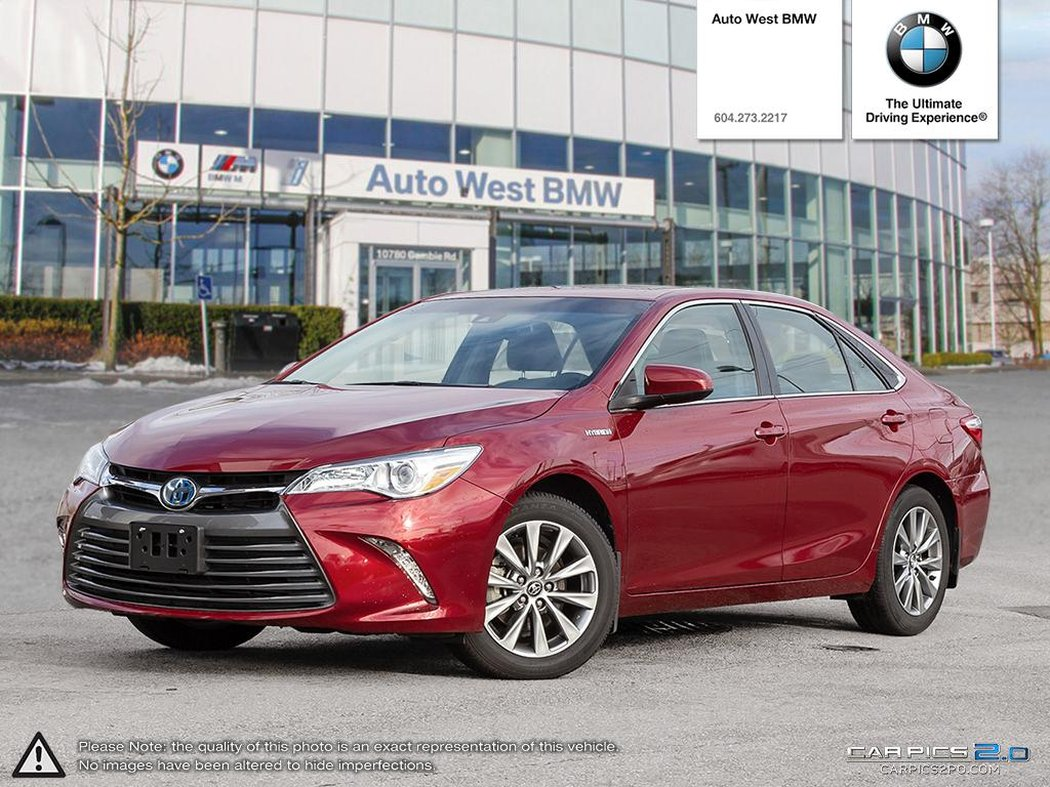 2017 Toyota Camry Hybrid For In Richmond British Columbia