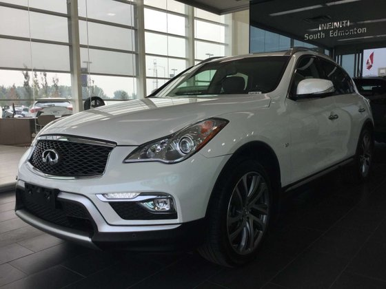 2017 Infiniti QX50 for sale in Edmonton, Alberta