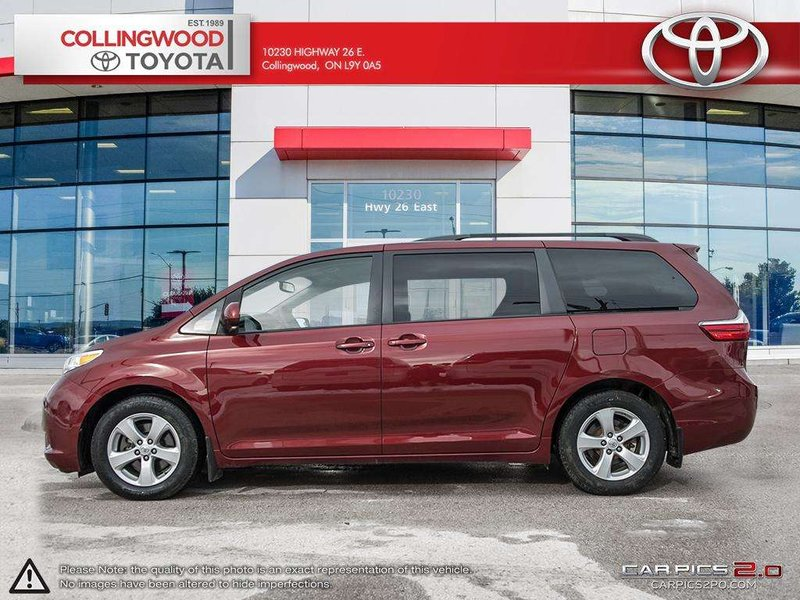 2015 Toyota Sienna for sale in Collingwood, Ontario