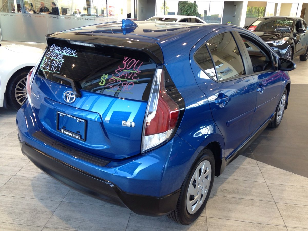 2017 Toyota PRIUS C for sale in Edmonton, Alberta
