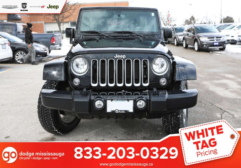 2017 Jeep Wrangler Unlimited for sale in Mississauga, Ontario
